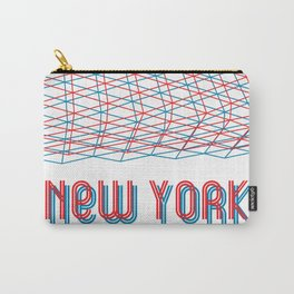 New York City pattern Carry-All Pouch