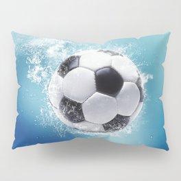 Soccer Water Splash Pillow Sham