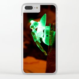 Fairy Glow Clear iPhone Case