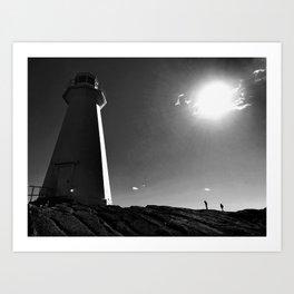 Cape Spear Lighthouse Art Print