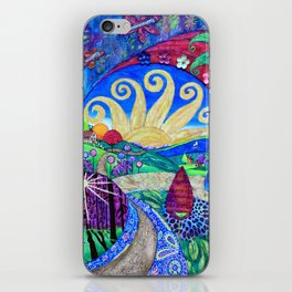 Road To Tranquility iPhone Skin