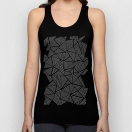 Abstraction Linear Unisex Tank Top