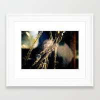 cracked Framed Art Prints featuring Cracked by GrandmaStyleCo