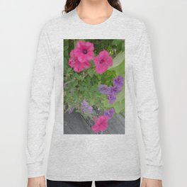 Looking Down Long Sleeve T-shirt