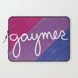 Bisexual Gaymer Pride Laptop Sleeve