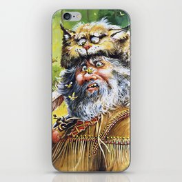 Bugged Mountain Man iPhone Skin