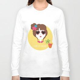 J'aime les vacances Long Sleeve T-shirt