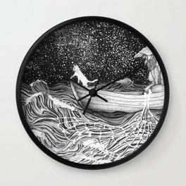 The Fisherman's Companion Wall Clock