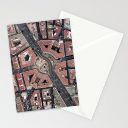 Pentagonal urbanism Stationery Cards
