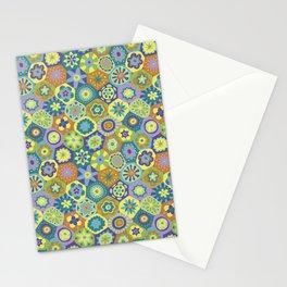 Millefiori-Jardin Colors Stationery Cards