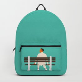 Forrest waiting Backpack