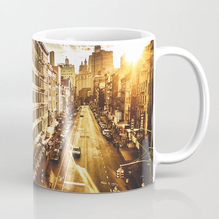 chinatown in nyc at dusk Coffee Mug