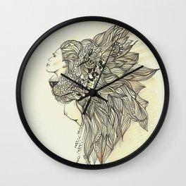 animalia lion Wall Clock