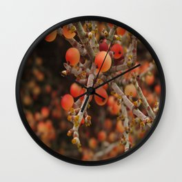 Joshua Tree Desert Mistletoe RMD Designs Wall Clock