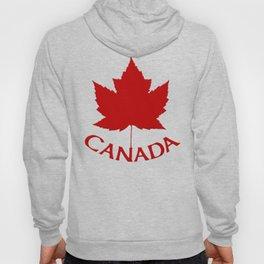 Cute Canada Flag Pattern Hoody