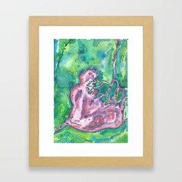 Heartwater IV Framed Art Print