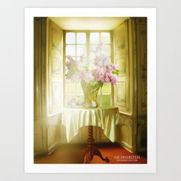 Springtime In My Window Art Print