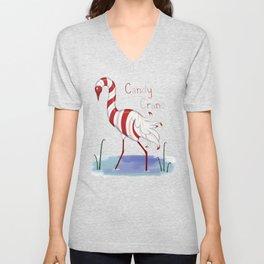 Candy Crane Unisex V-Neck
