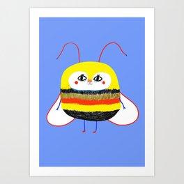 Cutest Bee Art Print