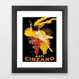 Vintage poster - Asti Cinzano Framed Art Print