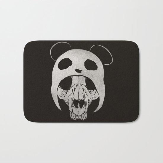 Panda Skull Bath Mat