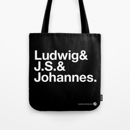 The 3 Bs Tote Bag
