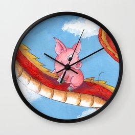 Mythic Flight Wall Clock