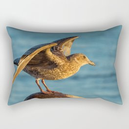 Ready, Flight Rectangular Pillow