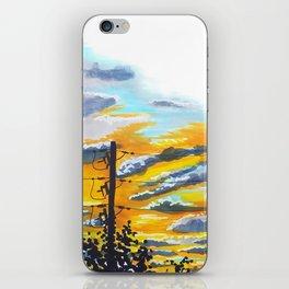 Suburban Sunset iPhone Skin
