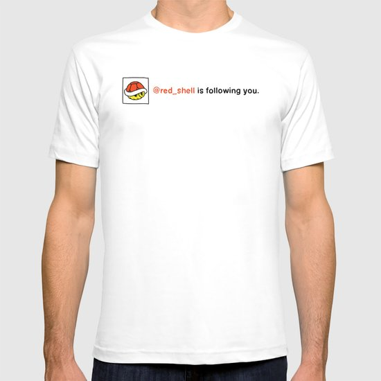 @red_shell is following you. T-shirt