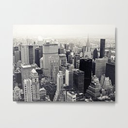 tribute to NYC Metal Print