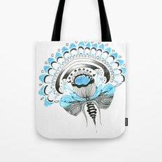 Blu(m)e Tote Bag