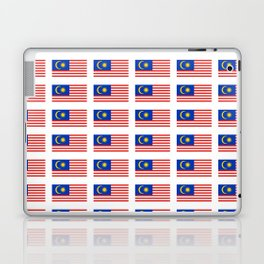 Flag of Malaysia-malay,malaysian,Kuala Lumpur,Malacca,malasia. Laptop & iPad Skin