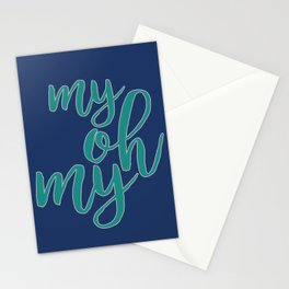 My Oh My 2 Stationery Cards