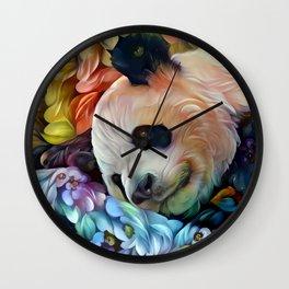 Sweet Panda Wall Clock