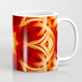 Fire Lotus Mandala Coffee Mug