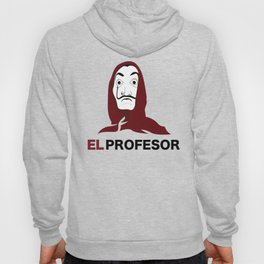 LA CASA DE PAPEL tee shirt El Profesor Hoody