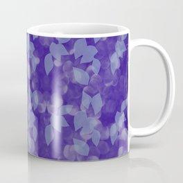 Purple Leaves in Dappled Sunlight Coffee Mug
