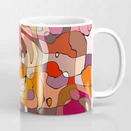 abstract reds Coffee Mug