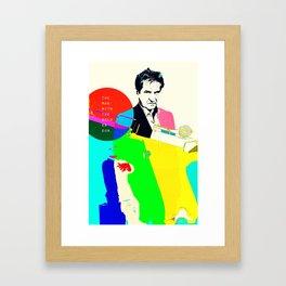 The Man With The Golden Gun Framed Art Print