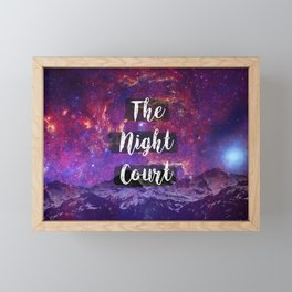 The Night Court Framed Mini Art Print