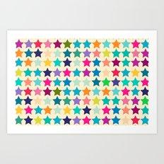 Star Lab Colors  Art Print