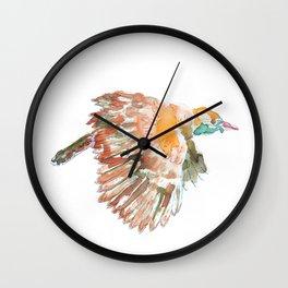 Claudio the bird Wall Clock