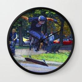Kickflip  -  Skateboarder Wall Clock