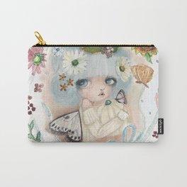 Pumpkin Blue Pixie Carry-All Pouch