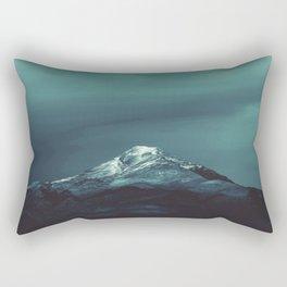 Northern Lights watercolor Rectangular Pillow
