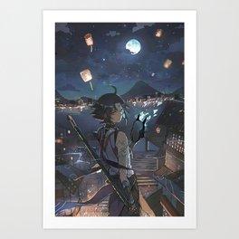 Genshin impact  Art Print
