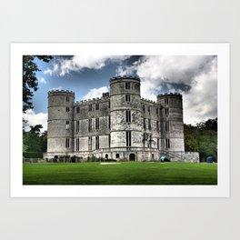Lulworth Castle, Dorset, UK Art Print