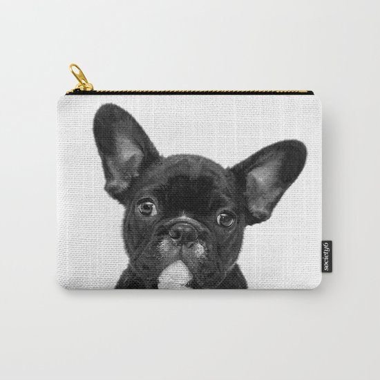 Black and White French Bulldog by alemi