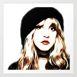 Stevie Nicks - Rhiannon - Pop Art Art Print